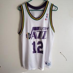 VTG Champion Utah Jazz Stockton Jersey size 44